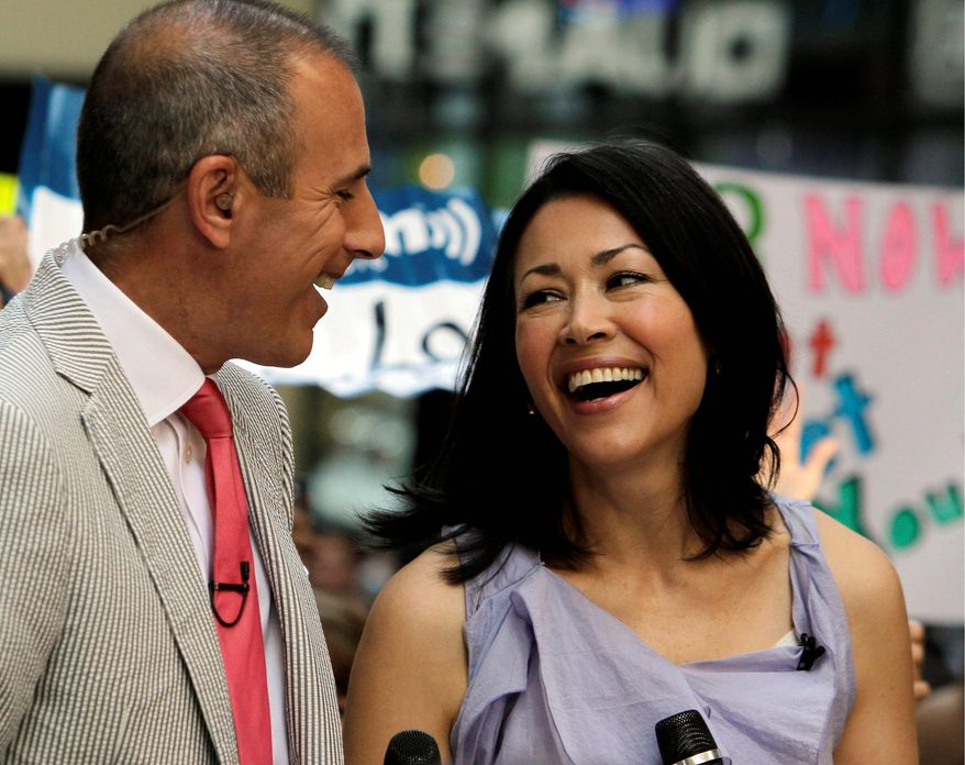 """Matt Lauer may not be having Ann Curry at his side much longer as a co-host of NBC's """"Today."""" (Associated Press)"""