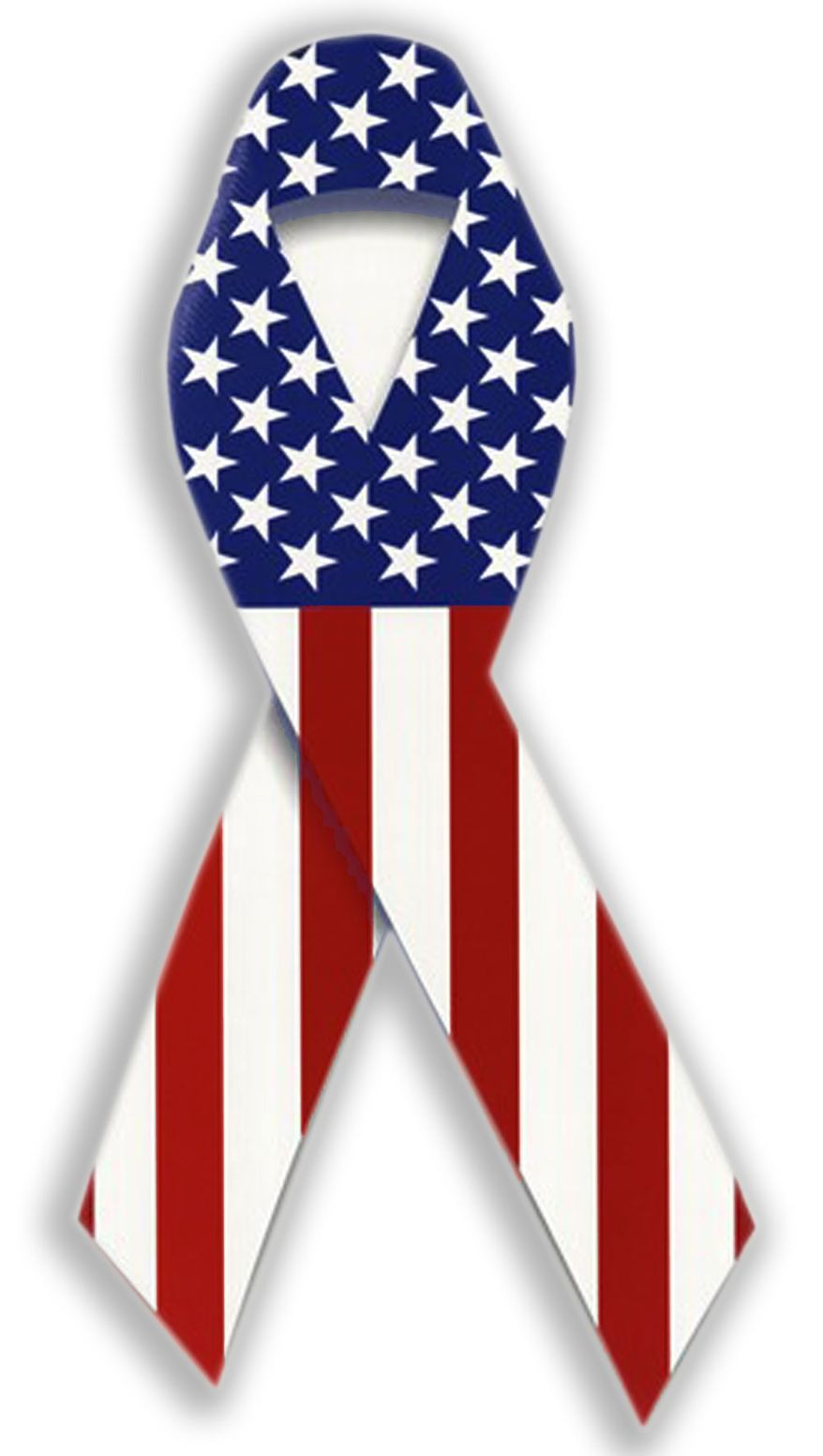Illustration American Flag Ribbon by John Camejo for The Washington Times