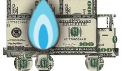 Illustration Natural Gas by Alexander Hunter for The Washington Times