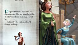 Read, listen and play in the iPad app Brave: Storybook Deluxe.