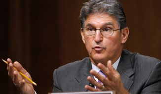 Sen. Joe Manchin III, West Virginia Democrat (Associated Press)