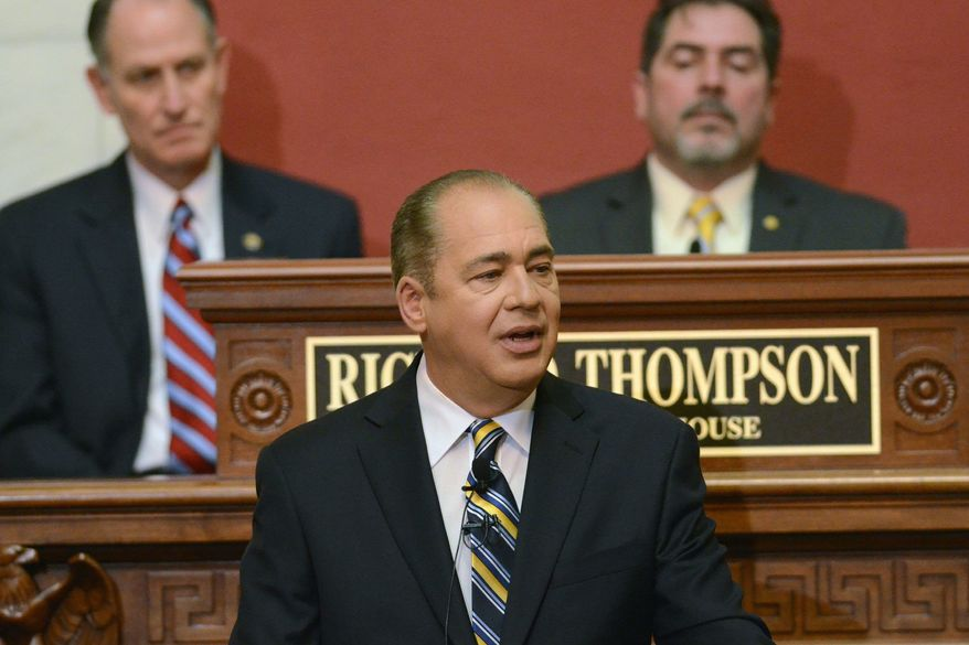 West Virginia Gov. Earl Ray Tomblin, a Democrat, will skip his party's national convention, yet he remain popular with his constituents. (Associated Press)