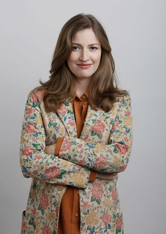 """Kelly Macdonald has been a supporting actress in """"No Country for Old Men"""" and """"Finding Neverland."""" She also has a major role in HBO's """"Boardwalk Empire,"""" but voicing the lead in a film topping the box office is a new experience for her. (Associated Press)"""