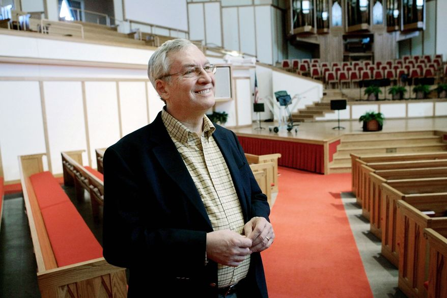 Leith Anderson is president of the National Association of Evangelicals. (Associated Press)
