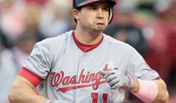 Nationals third baseman Ryan Zimmerman signed for six-years and $100 million after missing 60 games last season because of abdominal surgery. (Associated Press)