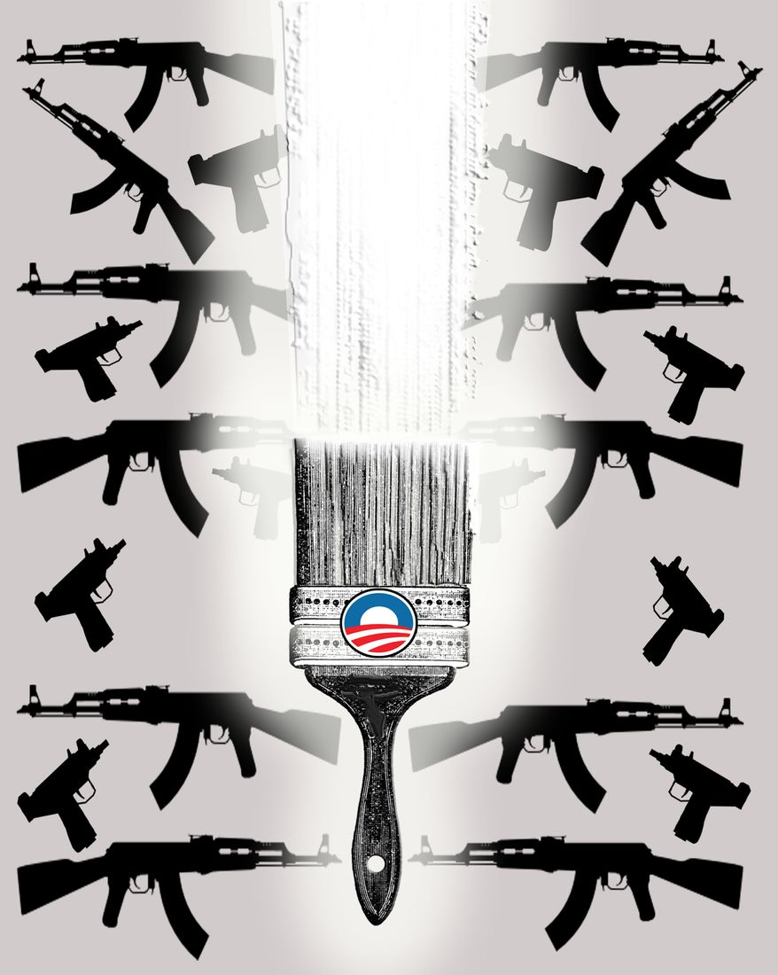 Illustration Painting Over Fast and Furious by John Camejo for The Washington Times