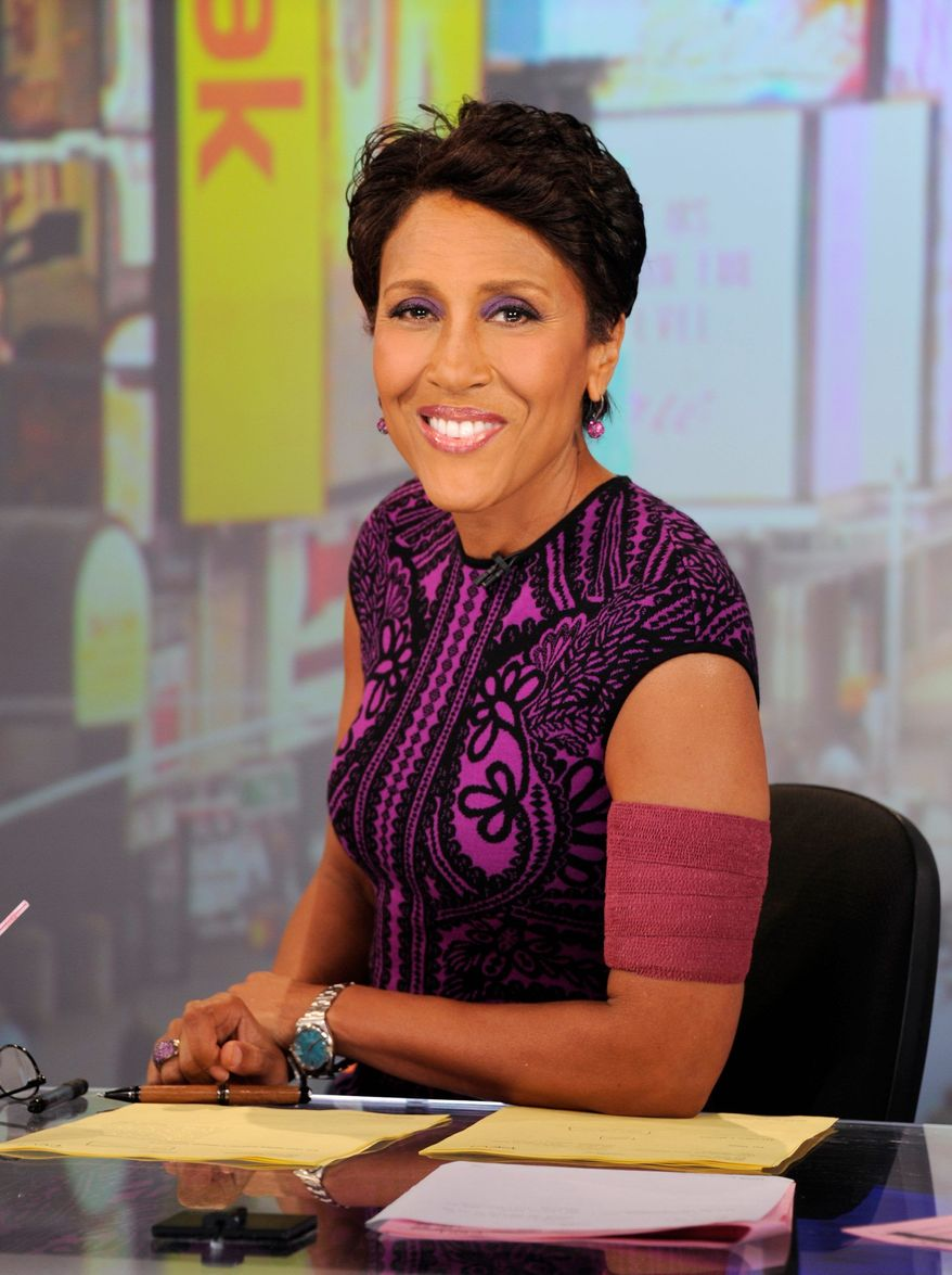 Robin Roberts (ABC via Associated Press)
