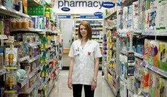 """I'm excited. It's such a new and novel thing for us,"" said Sarah Freedman, who manages a Walgreens in Washington, D.C., that is participating in the pilot program. At her pharmacy, the testing is done in a private room. They've also taken steps to make sure that a customer can very quietly request the test. (Associated Press)"