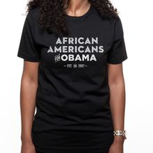 """""""African Americans for Obama"""" t-shirt"""