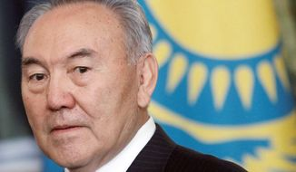 **FILE** Kazakh President Nursultan Nazarbayev (Associated Press)