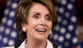 """""""No, it's a penalty. It's a penalty that comes under the tax code for the 1 percent perhaps of the population who may decide that they are going to be free-riders."""" - House Minority Leader Nancy Pelosi, California Democrat (Associated Press)"""