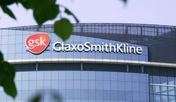 The London headquarters of the pharmaceutical company GlaxoSmithKline PLC are pictured in 2006. (Associated Press)
