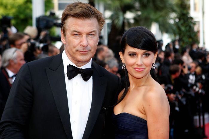 ** FILE ** Alec Baldwin and his wife Hilaria. (Associated Press)