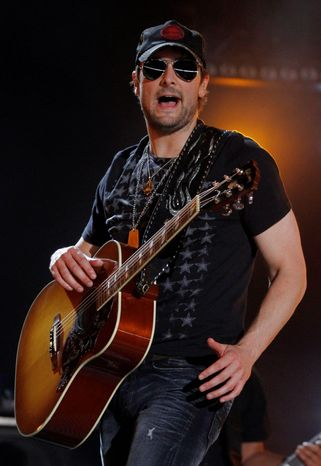 """Country star Eric Church will host an online contest in conjunction with the premiere of """"Mixtape"""" on CMT. (Invision via Associated Press)"""