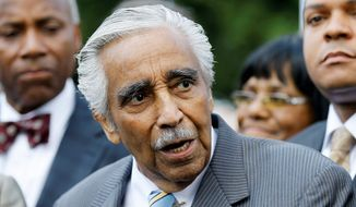 Rep. Charles B. Rangel, New York Democrat (Associated Press)