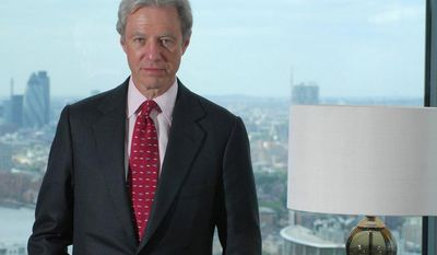 Marcus Agius resigned as chairman of the United Kingdom-based Barclays bank on Monday, July 2, 2012. (AP Photo/Barclays, VisualMedia)