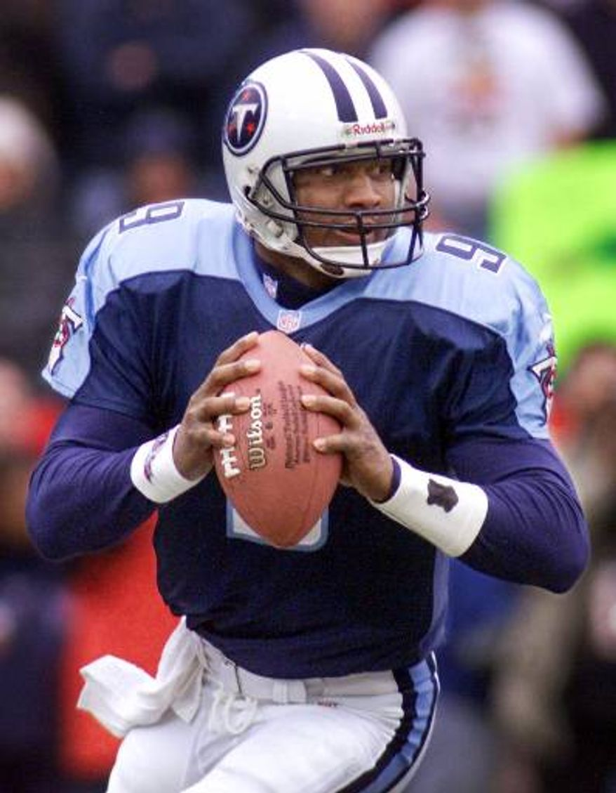 Former Tennessee Titans quarterback Steve McNair was shot and killed by his girlfriend three years ago Fourth of July. (Associated Press)