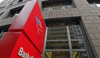 **FILE** Bank of America's corporate headquarters in Charlotte, N.C. (Associated Press)