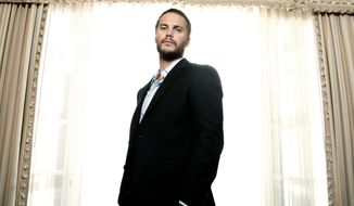 """Taylor Kitsch says he """"wouldn't change a thing"""" despite two box office flops. A third time may be a charm as he appears in Oliver Stone's """"Savages."""" (Invision via Associated Press)"""