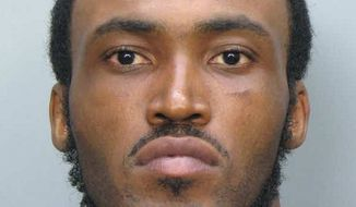 **FILE** This undated booking photo shows Rudy Eugene, 31, who was shot and killed by Miami-Dade Police after he refused to stop eating another man's face in Miami on May 26, 2012. (Associated Press/Miami-Dade Police Dept.)