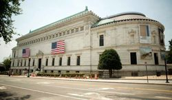 The Corcoran Gallery of Art can display only about 3 percent of its collection at any one time, and its College of Art and Design needs room for more students. Thus the cash-strapped board of the 115-year-old gallery is pondering whether to move, and, if so, where. As of Thursday, no decision has come forth. (Raymond Thompson/The Washington Times)