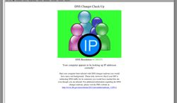 ** FILE ** This undated handout image provided by The DNS Changer Working Group (DCWG) shows the webpage resulting from not having the DNS malware. It will only take a few clicks of the mouse. But for hundreds of thousands of computer users, those clicks could mean the difference between staying online and losing their connections. (AP Photo/DNC Changer Working Group, FILE )