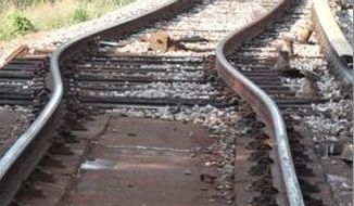 "** FILE ** Metro officials say a ""heat kink"" in the track near the West Hyattsville Station was the likely cause of Friday's train derailment (Photo provided by Metro)"