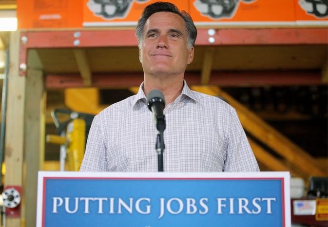 Mitt Romney bolstered Massachusetts' graduation exams during his time as governor, adding a science, technology and engineering portion to the English and math tests taken by all 10th-graders for graduation. (Associated Press)