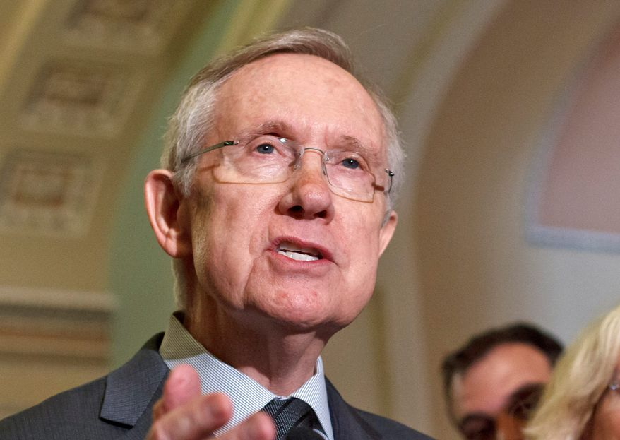 """Today's report is further evidence that Congress should be focusing on creating jobs and helping the middle class, not re-fighting old battles for political gain."" - Senate Majority Leader Harry Reid,  Nevada Democrat"