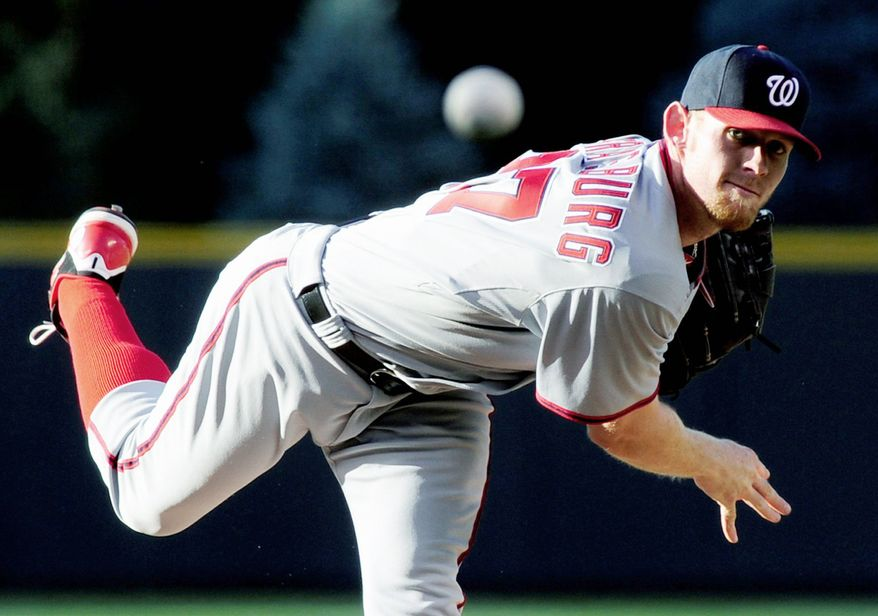 Stephen Strasburg has been heralded as the future of the Nationals since he was taken No. 1 overall in the 2009 draft. (Associated Press)
