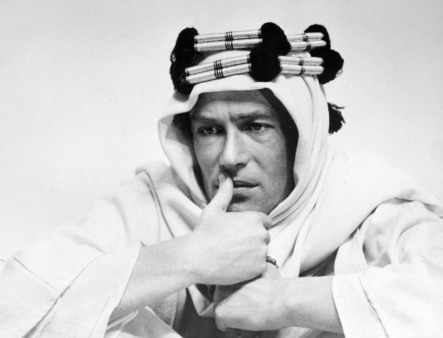 "Peter O'Toole's performance in ""Lawrence of Arabia"" earned him the first of his eight Oscar nominations. Mr. O'Toole, about to turn 80, has announced his retirement. (Columbia Pictures via Associated Press)"