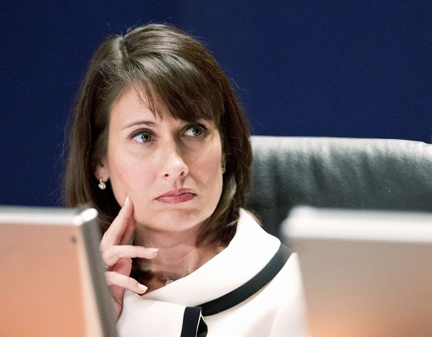 Deborah A.P. Hersman is chairman of the National Transportation Safety Board. (Associated Press)