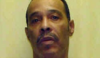 John Eley, on Ohio's death row for killing a convenience store owner, was spared execution when Gov. John Kasich changed Eley's sentence to life in prison with no chance of parole on Tuesday, July 10, 2012. (AP Photo/Ohio Department of Rehabilitation and Correction)