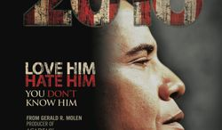 A new documentary examines the future of America if President Obama is elected for a second term as told by Hollywood veteran producer Gerald Molen and conservative author Dinesh D'Souza. It opens July 27. (Rocky Mountain Pictures)