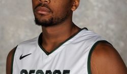 GMU coach Paul Hewitt expects Johnny Williams to make a significant impact this year after slimming down. (George Mason University Athletics)