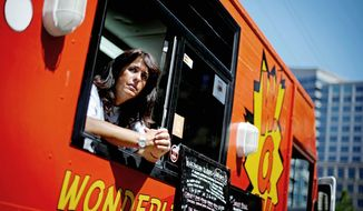 Wendy Cross, who runs a food truck in Atlanta, lost about $300,000 after transferring it to a bank that is missing $17 million in investors' money. The bank's director has disappeared, leaving a suicide letter that says the money was lost in bad investments. (Associated Press)