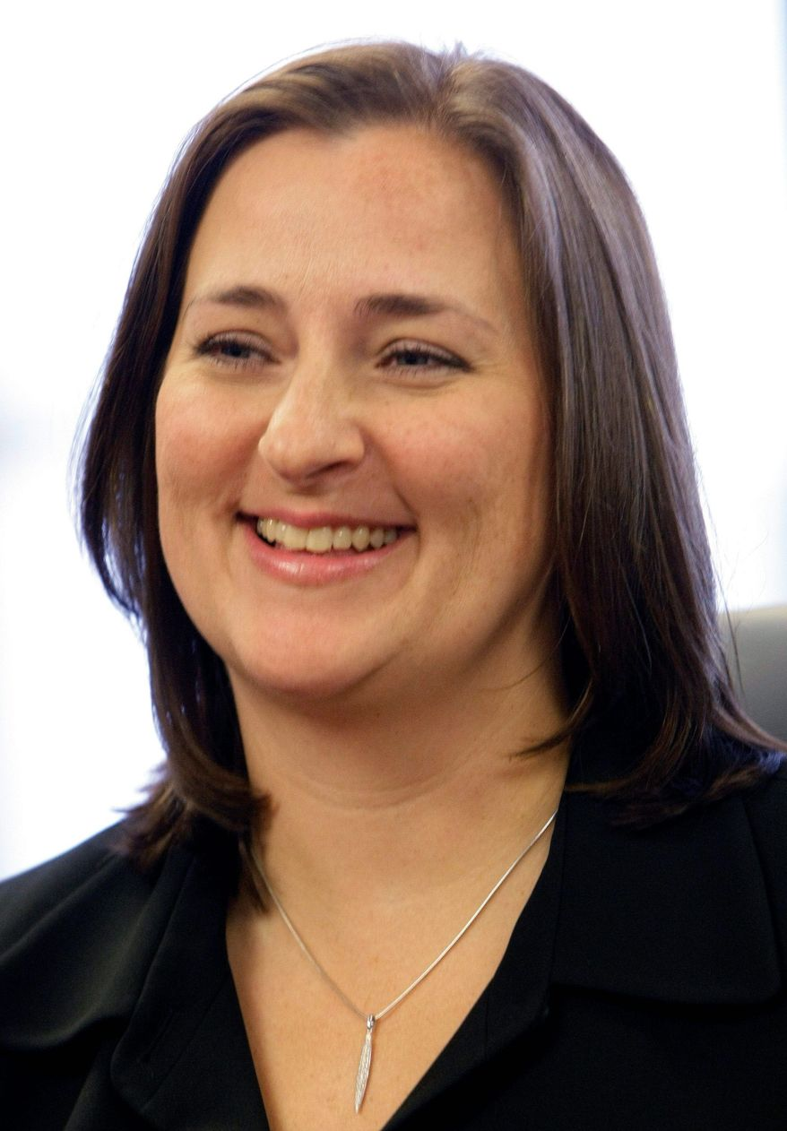 Laura Ricketts, a co-owner of the Chicago Cubs, is a co-founder of LPAC, a super PAC formed to promote issues important to lesbians. (Associated Press)