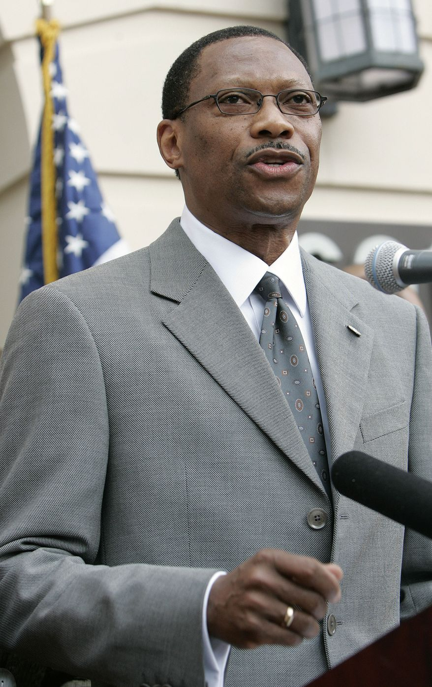**FILE** James Ammons, president of Florida A&M University (Associated Press)