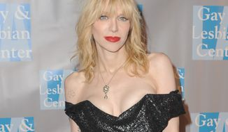 "**FILE** Musician Courtney Love attends ""An Evening With Women"" in Los Angeles on May 19, 2012. (Jordan Strauss/Invision)"