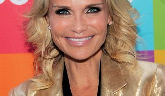 "ASSOCIATED PRESS  Kristin Chenoweth was resting at home Thursday after being hit in the head by falling equipment on the set of ""The Good Wife,"" where she has a recurring role."