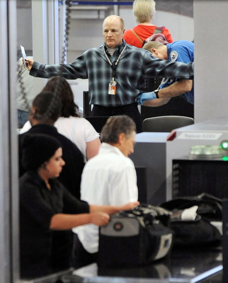 ASSOCIATED PRESS An air traveler is patted down by a TSA agent at O'Hare International Airport in Chicago. Experts say reforms in TSA's airport-screening policies are needed, though they cautioned the agency to be careful not to make the policies too lenient.