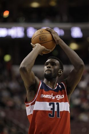 As a rookie, Wizards forward Chris Singleton averaged 4.6 points and 3.5 rebounds per game, shooting 37.2 percent from the field. (Associated Press)