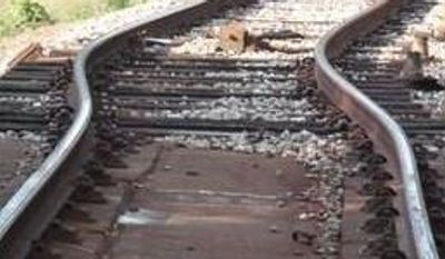 "Metro officials say a ""heat kink"" in the track near the West Hyattsville Station was the likely cause of Friday's train derailment (Photo provided by Metro)"