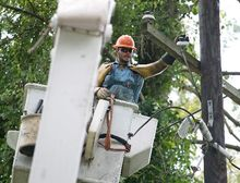 Work on the first phase of a multiyear effort to bury the District's power lines will begin in the spring, after the D.C. Public Service Commission announced Thursday it had approved the $1 billion plan.. (Andrew S. Geraci/The Washington Times)