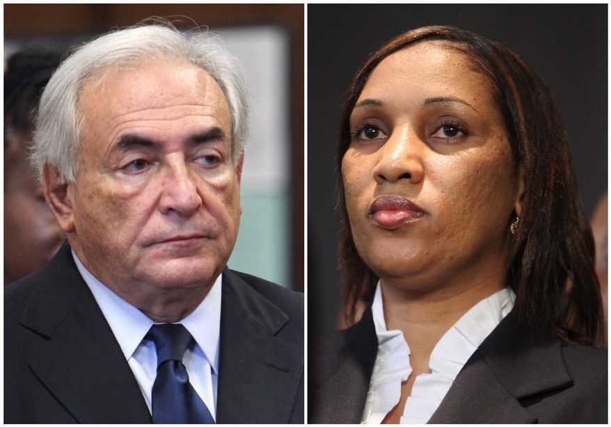 Dominique Strauss-Kahn is facing a civil action by maid Nafissatou Diallo over their hotel room encounter in 2011. (Associated Press)