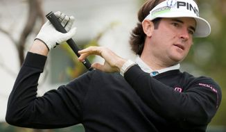Bubba Watson won the Masters, then missed the cut at the U.S. Open at the Olympic Club in San Francisco. He also missed the cut at Turnberry and St. Andrews in his first two trips to the British Open. (Associated Press)