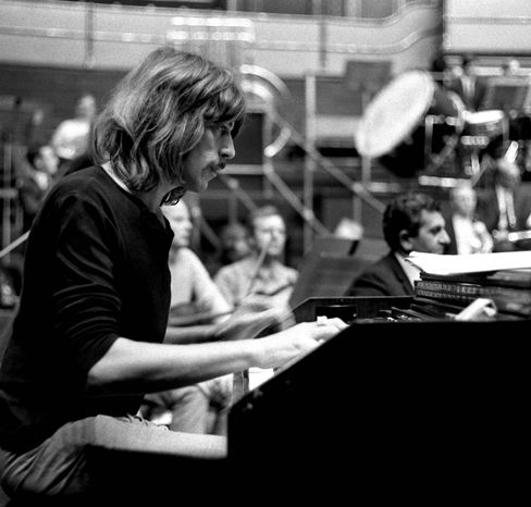 Jon Lord, longtime keyboard player for Deep Purple, died July 16, 2012, at age 71. (Associated Press)
