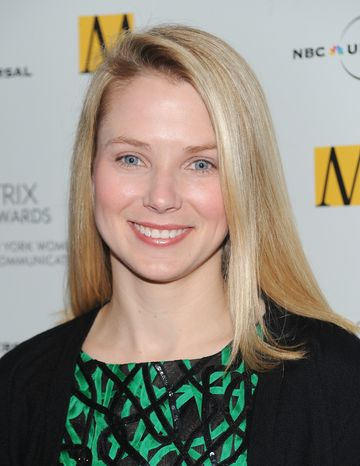 **FILE** Google executive Marissa Mayer attends the 2010 Matrix Awards in New York on April 19, 2010. (Associated Press)