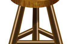 Illustration Law Stool by Alexander Hunter for The Washington Times
