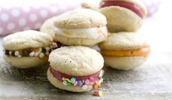 What brightens summer more than ice cream? Make it even more special by baking sugary cookies to create fresh ice cream sandwiches. (Associated Press)